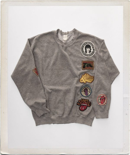 Madeworn The Rolling Stones Patch Sweatshirt