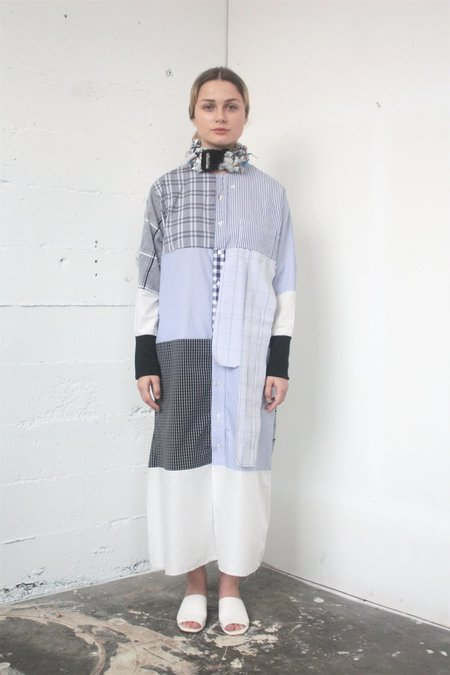 Alexa Stark patchwork dress no.3