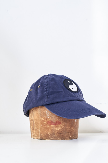 Assembly New York Cotton Ying Yang Hat - Navy