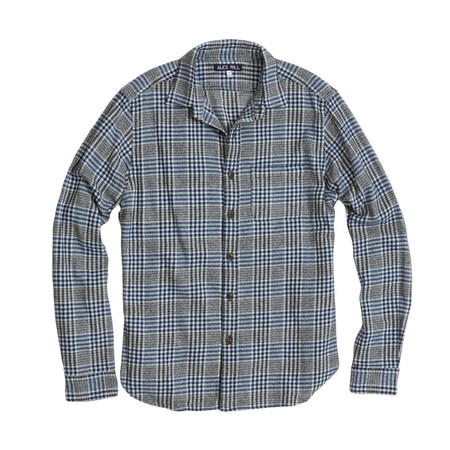 Men's Alex Mill - Glen Plaid Flannel Button Down