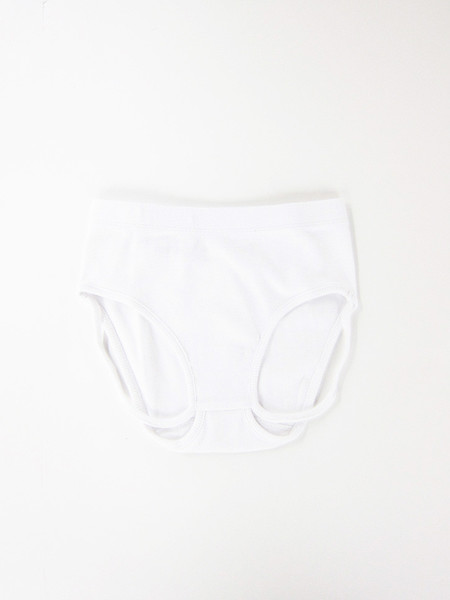 Marieyat Gtang Mid Waist Brief, White