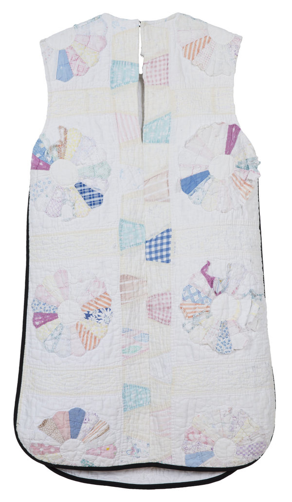 Carleen Quilted Shift Dress - White