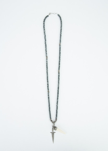 Jewels by Piper Sword and Tusk Diamond Necklace