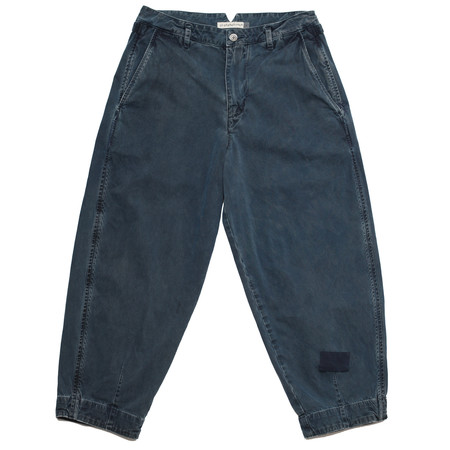 Olderbrother Hand Me Down - Forty-Five Trousers - Indigo Plus