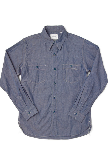 Men's Shuttlenotes Deck Shirt Chambray