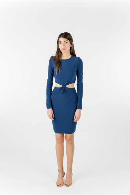 Bec & Bridge Lucienne L/S Dress - Petrol