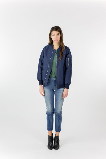Just Female Theory Bomber - Navy