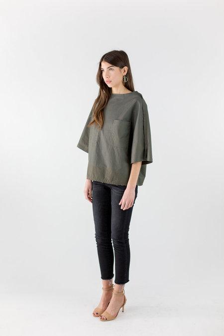 Priory Sayan Sweater - Dull Green