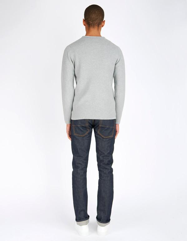 Minimum Men's Reiswood Sweater Light Grey Melange