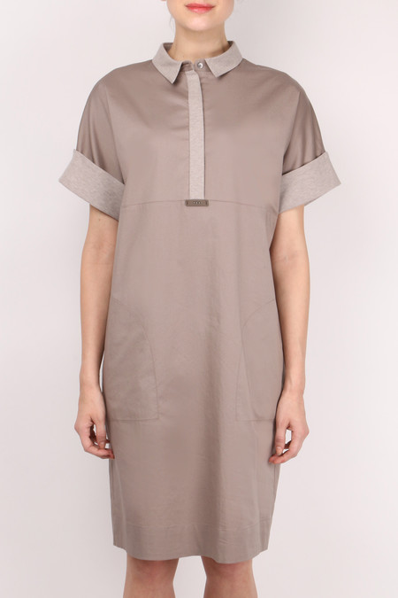 Peserico Collared Dress
