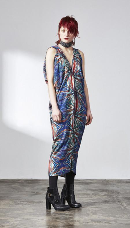 H. Fredriksson W 15 Print Long Stina Dress