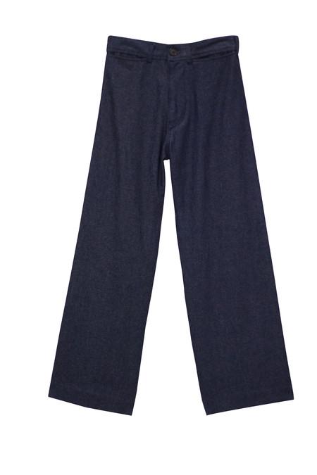 Ceri Hoover High Rise Denim Trouser