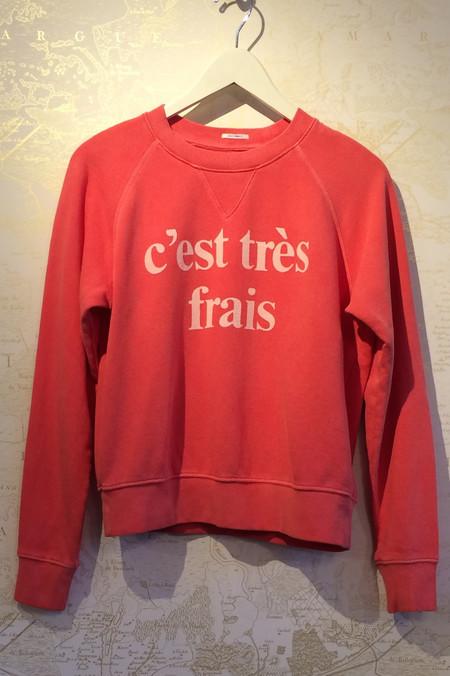 Mother Denim 'C'est Très Frais' Sweatshirt