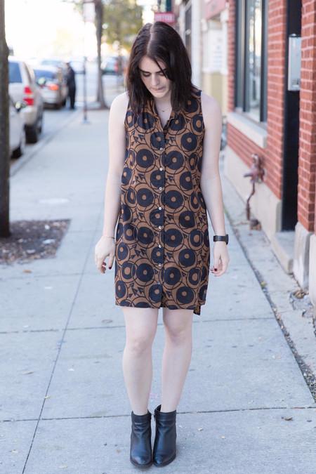Ilana Kohn Eibel Dress in Arrow Print