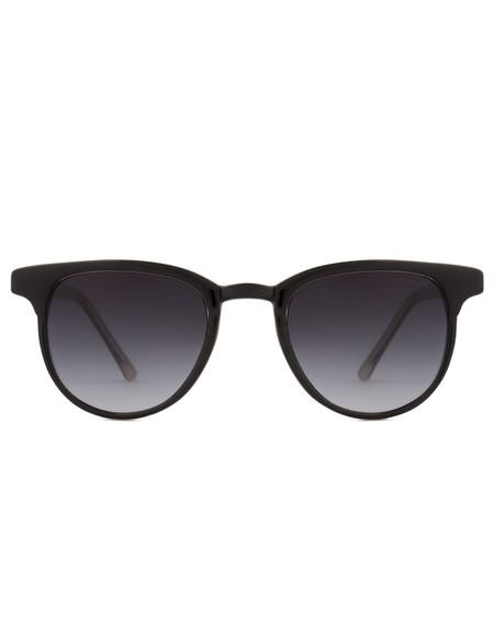 Komono Francis Sunglasses Black Ivory
