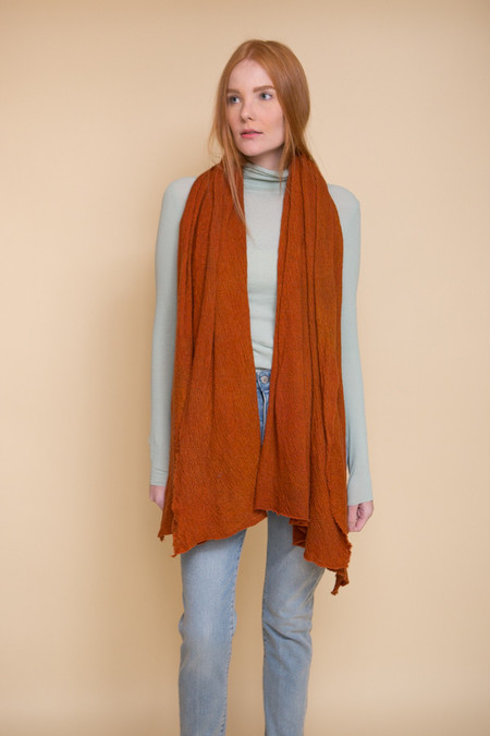Scarf Shop Wool Cloud Scarf - Cayenne