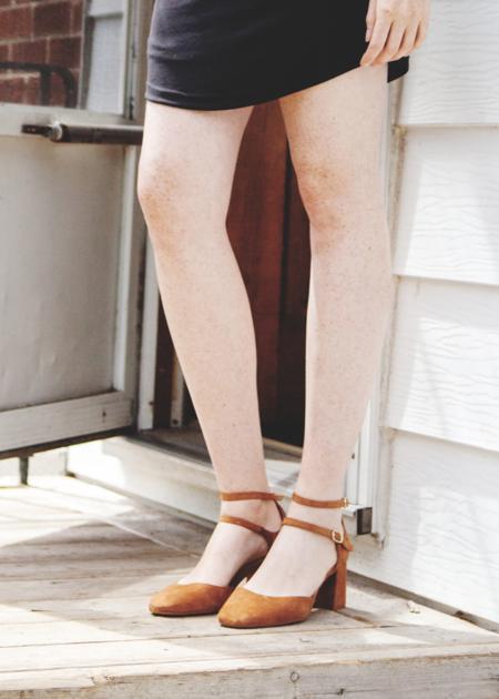L'Intervalle Reikan Suede Shoes -Tan