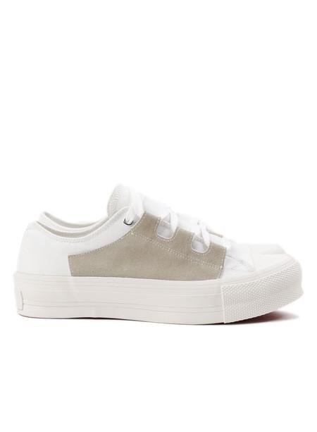 Men's Needles Asymmetric Ghillie Sneaker White