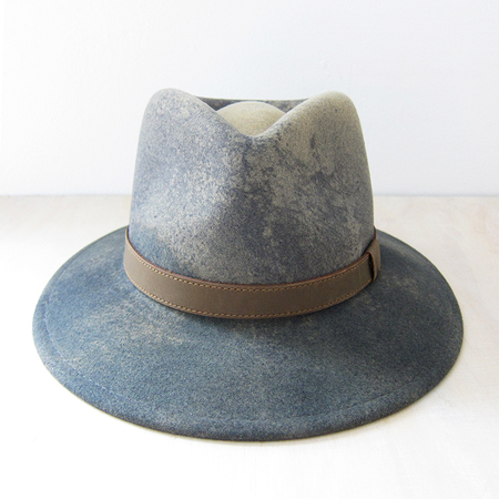 Bailey Hats Wescoat ombre fedora - camel