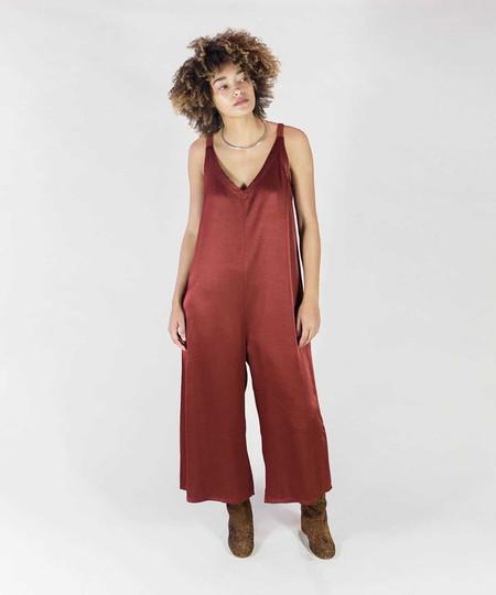 Lacausa Crimson Santi Jumpsuit