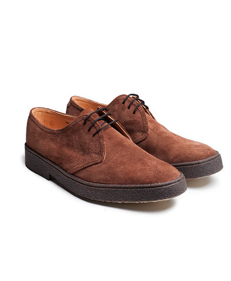 Neighbour Gibson Snuff Suede Brown