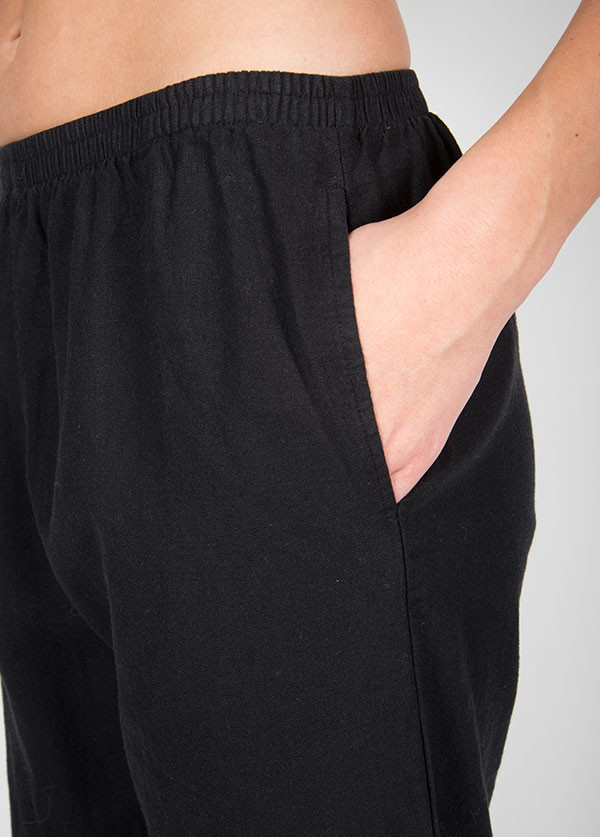 Me & Arrow - Cuff Pants in Black