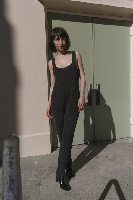 Lauren Manoogian Waders in Dark Charcoal