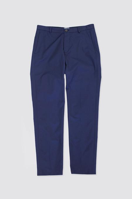 DDUGOFF Slim Pants Dull Navy Cotton/Nylon