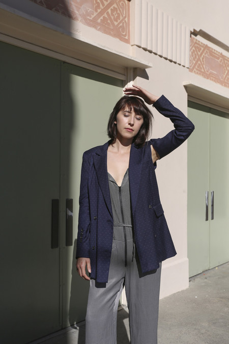 Rachel Comey Rupture Blazer in Navy