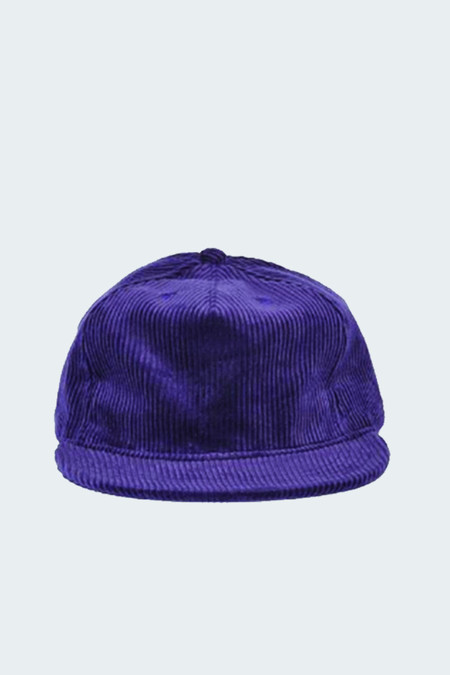 paa Wide Wale Corudroy Pleat Cap Concord
