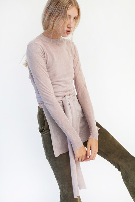Pari Desai Lia Wrap Sweater