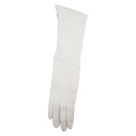 Slow and Steady Wins the Race Glove Clutch in White