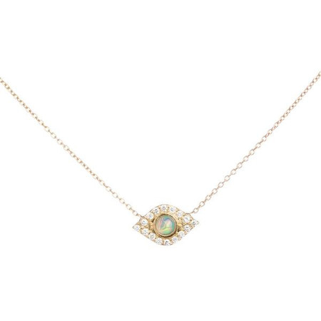 Looma Jewelry Opal of my eye necklace