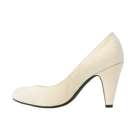 Slow and Steady Wins the Race Pump in Natural - Size 38