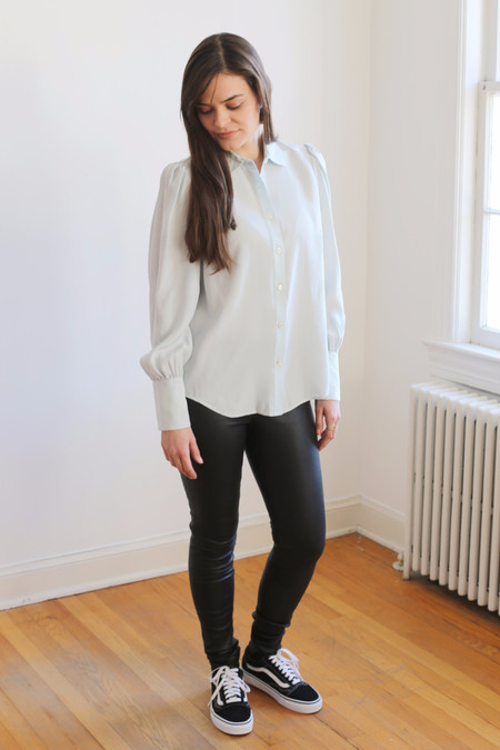 FRAME Denim Feminine Blouse