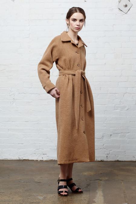 Megan Huntz Ms. Brown Coat