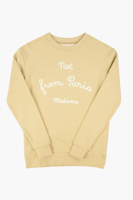 Drôle de Monsieur NFPM Sweater Sand