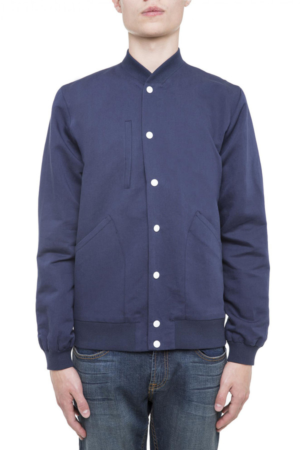Men's Timo Weiland Linen Bomber