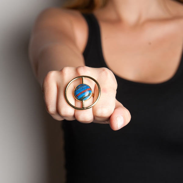 Psyche Helix Ring