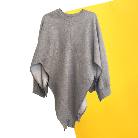 Slow and Steady Wins the Race Cape in Grey