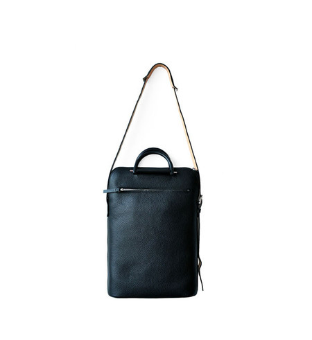 Building Block Pebbled Black Lite Business Bag