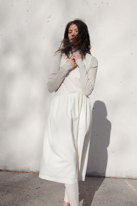 Lauren Manoogian Akari Dress in Bone