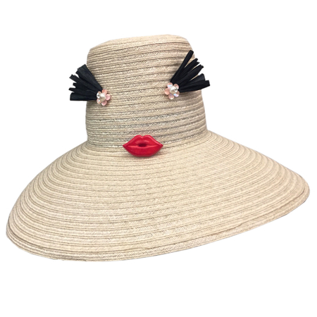 Yestadt Millinery CHEEKY NATURAL