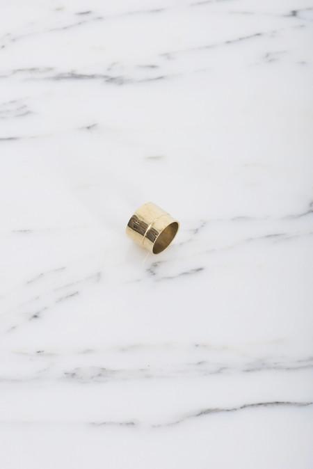Samma Valve Ring #1 in Brass