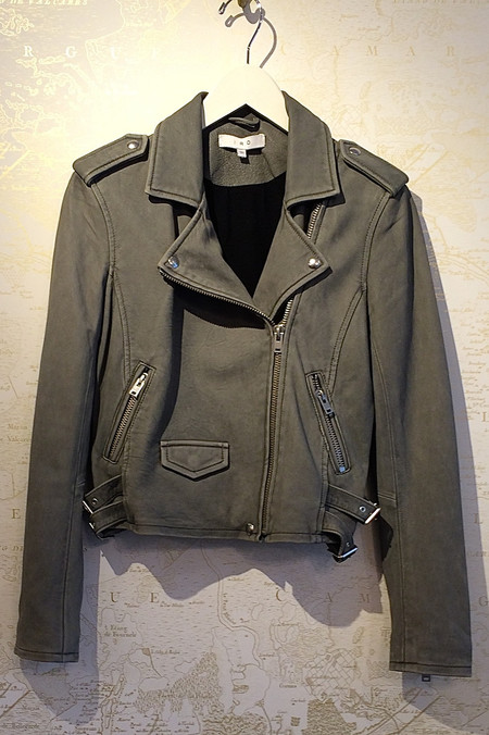 IRO 'Ashville' Leather Moto Jacket