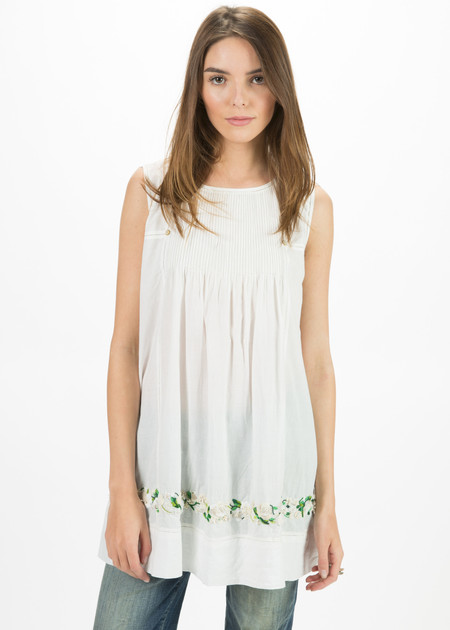 Pero Sleeveless Flower Top