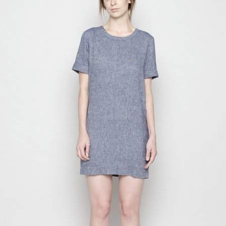 7115 by Szeki Pocket Shift Dress