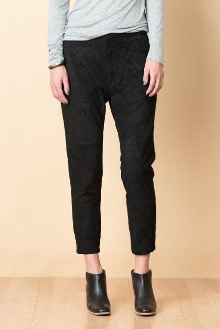 Hope Suede Krissy Trouser In Black