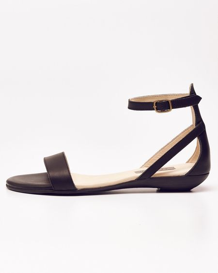 Nisolo Austin Serena Sandal Carbon 5 for 5