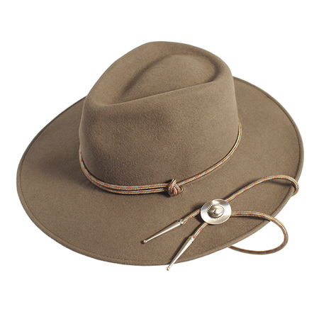 Yestadt Millinery BOLO TAUPE